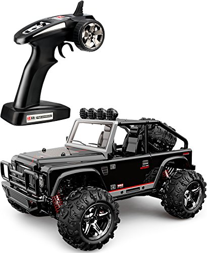 TOZO C1155 RC CAR Battleax High Speed 30km/h 4x4 Fast Race Cars 1:22 RC SCALE RTR Racing 4WD ELECTRIC POWER BUGGY W/2.4G Radio Remote control Off Road Powersport black