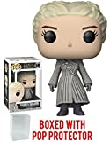 Funko Pop! Game of Thrones: GOT - Daenerys Targaryen White Coat Beyond the Wall Vinyl Figure (Bundled with Pop Box Protector Case)