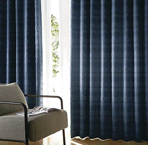 アスワン ひかえめな織柄のカーテン カーテン2.5倍ヒダ E6231 幅:250cm ×丈:160cm (2枚組)オーダーカーテン 160  B0784WR9R6