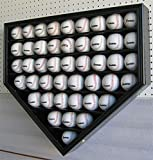 46 Baseball Display Case Wall Cabinet