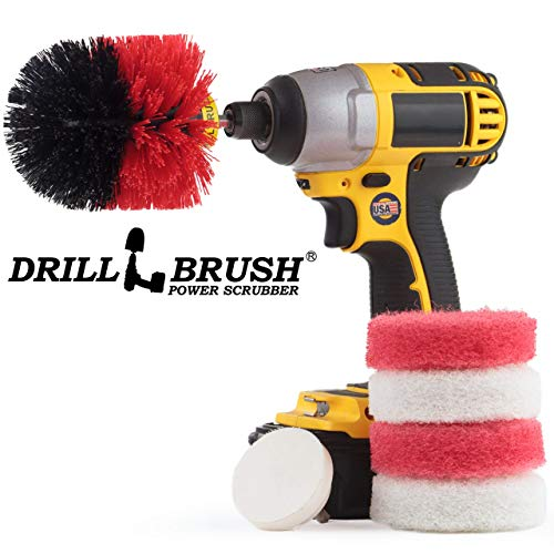 Indoor - Outdoor - Cleaning Supplies - Garden - Bathroom Accessories - Drill Brush - Grout Cleaner - Bathtub - Bath Mat - Sink - Flooring - Scrub Brush - Shower Cleaner - Shower Door - Porcelain from Drillbrush