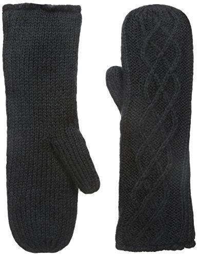 Buji Baja Women's Microfur Mitten, Black, One Size