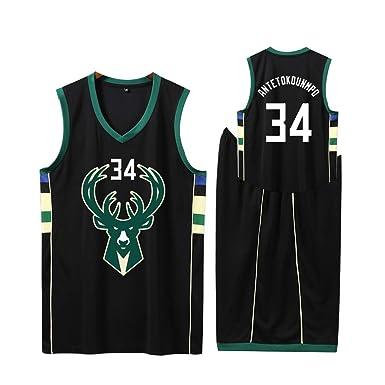 LUGLQA Camiseta de Baloncesto FNBA Mens # 34, Camiseta de ...