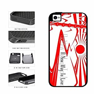 American Flag Crown 2-Piece Dual Layer Phone Case Back Cover iPhone 4 4s
