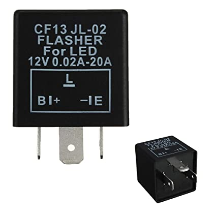 Amazon.com: iJDMTOY (1) 3-Pin CF-13 Electronic Flasher Relay Fix For on 8 pin relay plug in, dayton 8 pin relay, 8 pin latching relay, 8-pin ice cube relay, 8 pin control relay, ac power relay, 8 pin octal relay, 8 pin relay socket diagram, dpdt relay, pnr110a crouzet relay, delay relay, 16 pin relay, 220v relay, electrical relay, 8 pin reed relay, 20 pin round socket relay, phase monitor relay, 8 pin relay schematic wiring diagram, 8 pin relay base,