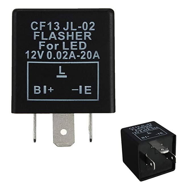 Amazon Ijdmtoy 1 3pin Cf13 Ep34 Electronic Flasher Rhamazon: 1986 Camaro Turn Signal Flasher Location At Gmaili.net
