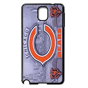 WY-Supplier Fashion Funny Cool NFL Chicago Bears Samsung Galaxy Note 3 case, Perfect Fit For Samsung Galaxy Note 3 Shopping Market, Chicago Bears phone case