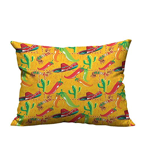 YouXianHome Decorative Throw Pillow Case Elements with Cactus