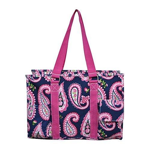 Organizer Paisley Pink New 3 Bag Medium Tote All Gil Spring 2017 Utility Hot Pattern Purpose N HqOx1twZR