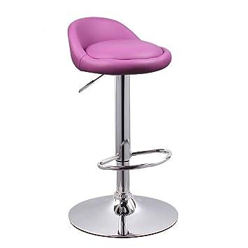 Y Tabouret De Bar Haut Dossier Chaise Haute Europeenne Couleur Violet