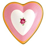 Royal Albert Candy Heart Tray, 5.1'', Sweet Stripe