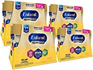Enfamil NeuroPro Ready to Feed Baby Formula Milk, 8 Fluid Ounce (24 Count) - MFGM, Omega 3 DHA, Probiotics, Ir