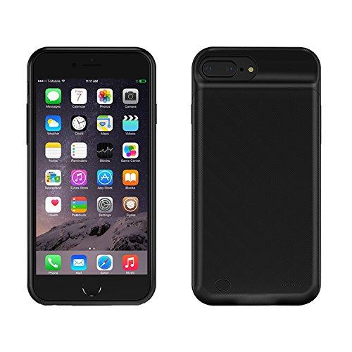CHOETECH Funda Batería iPhone 8 Plus (5.5 Inch), Funda Protectora Cargador Externa Ultra Delgada Batería Portátil...