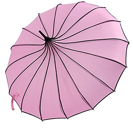 VIVI SKY(TM Pagoda Peak Old-fashionable Ingenuity Umbrella Parasol (Ivory) VIVISKY(TM) Variation