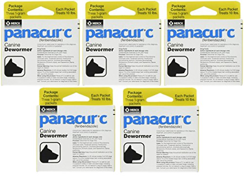 Panacur C dog dewormer