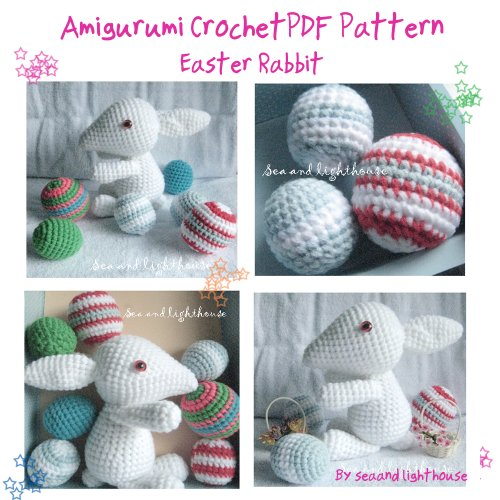 Easter Rabbit Amigurumi Crochet pattern