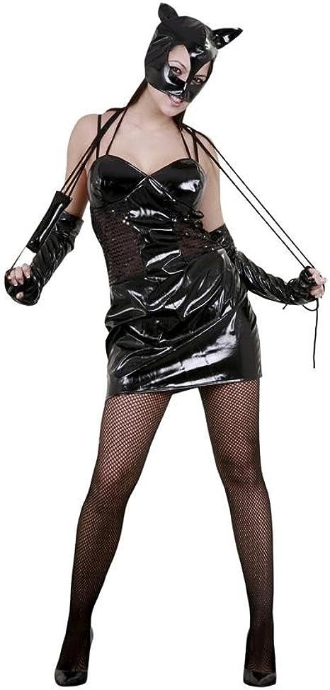 disfraz gatita traviesa adulto Talla M: Amazon.es: Ropa y accesorios