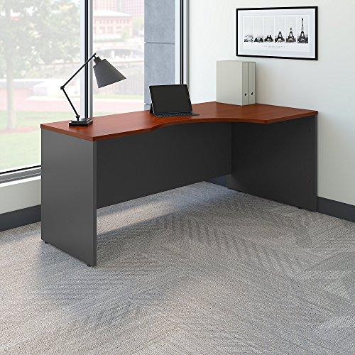 Series C 72W Right Handed Corner Desk In Hansen Cherry