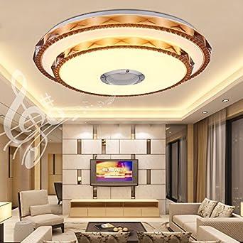 Led Musique Plafonnier 36w Polychrome Rgb Plafond Luminaire Avec