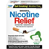 THE Relief Products Smokers Nicotine Relief Gum, Glacial Mint, 96 Count