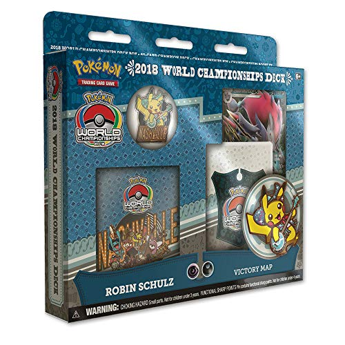 Pokemon TCG: 2018 World Championships Deck, Zoroark GX, Victory Map, Robin Schulz ()