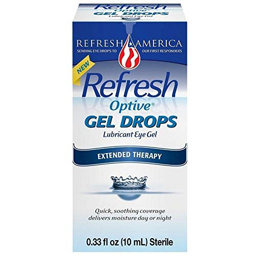Refresh Optive Gel Drops - 0.33 oz, Pack of 2 ()
