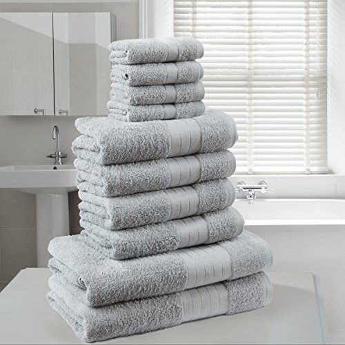 Face Towel Dream Meaning: Dreamscene Luxury 100% Egyptian Cotton 10 Piece Bathroom