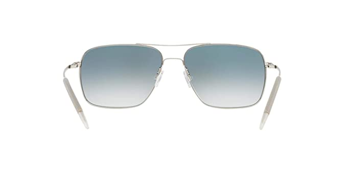Amazon.com: Oliver Peoples Unisex Clifton, Azul, talla única ...