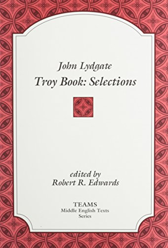 John Lydgate: Troy Book -  Selections (TEAMS Middle English Texts, - Stores In Michigan Troy