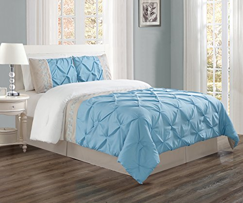 light blue bedding twin - 4