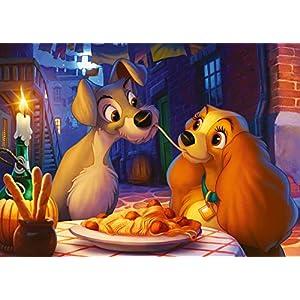 Ravensburger 13972 Lilli E Il Vagabondo Puzzle Disney 1000 Pezzi