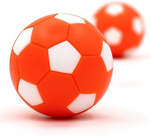 Futbolines,8 Pcs Futbolín Bolas Foosball de Recambio Mini futbolines de Mesa Plástico Mesa Pelotas de fútbol Pelota de Foosball Bola de futbolin Balones Infantil Table Soccer Reemplazos: Amazon.es: Hogar