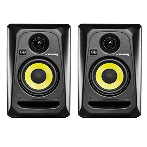 KRK RP4G3 4' High Performance Studio Monitors - Black (Pair)