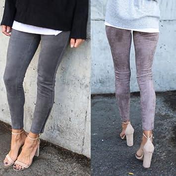 Xuanytp Pantalones de Yoga Leggings Slim Mujer Caliente ...