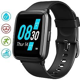 Smart Watch, UMIDIGI UFit Fitness Tracker for Men Women with Blood Oxygen(SpO2) Meter Heart Rate Monitor 5ATM Waterproof…