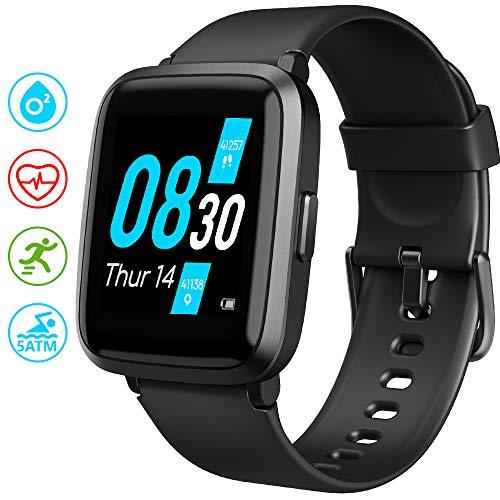 UMIDIGI Reloj Inteligente con Oxímetro (SpO2) Smartwatch con Monitoreo de Frecuencia Cardíaca para Hombre Reloj…