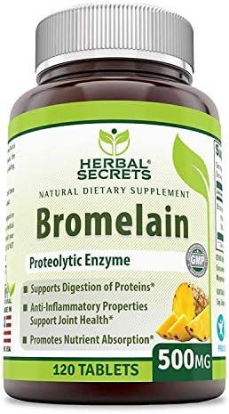 Herbal Secrets Proteolytic Anti Inflammatory Properties