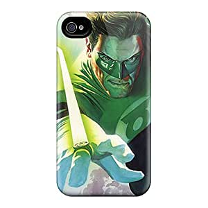 New CYs85UZfh Green Lantern I4 Tpu Cover Case For Iphone 4/4s
