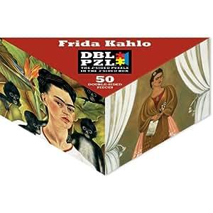 Frida Kahlo DBL PZL 50 Pc Double Sided Jigsaw Puzzle