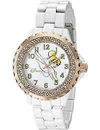 Women's W001636 Tinker Bell Analog Display Analog Quartz White Watch
