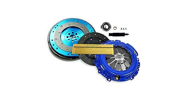 EFT etapa 1 Kit de embrague + aluminio Volante RSX TSX Accord Civic Si k20 a2 K20 A3 K24: Amazon.es: Coche y moto
