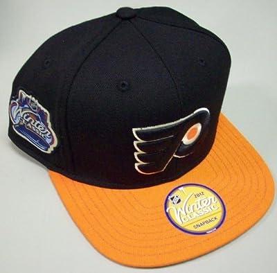 NHL Philadelphia Flyers Winter Classic Snapback Hat, Black, One Size Fits All