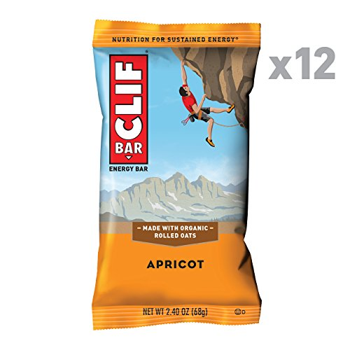 Clif Bar   Energy Bar   Apricot    2 4 Ounce Protein Bar  12 Count