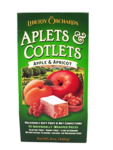 Liberty Orchards Aplets and Cotlets, 5.0 Ounce