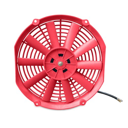 """Price comparison product image Mishimoto Slim Electric Fan 12"""",  Red"""