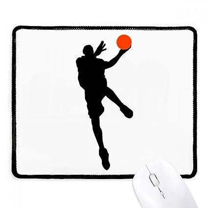 Alfombrilla de ratón antideslizante para jugador de baloncesto de ...