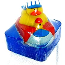 Fun kid's soap , Choo Choo Train Ducky bath soap, The Salt Baron soap