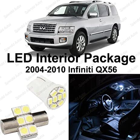 Amazon Splendid Autos Xenon White Led Infiniti Qx56 Interior