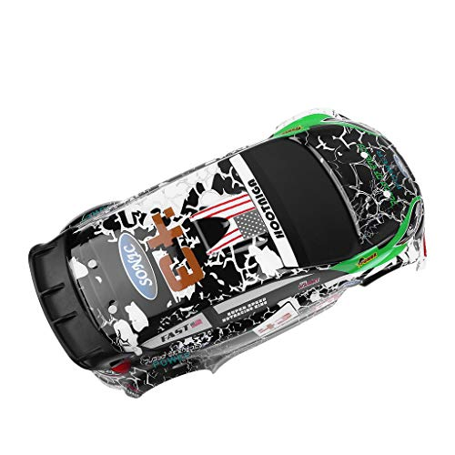 ☀ Dergo ☀ Body Shell Car Cover, K989-55 Body Shell Car Cover Spare Part For Wltoys K989 1/28 RC Off-road Car