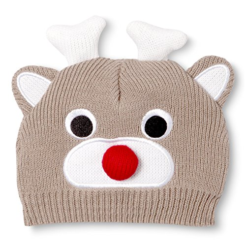 So'dorable Unisex Baby Reindeer Knit Beanie (0-6 Months)